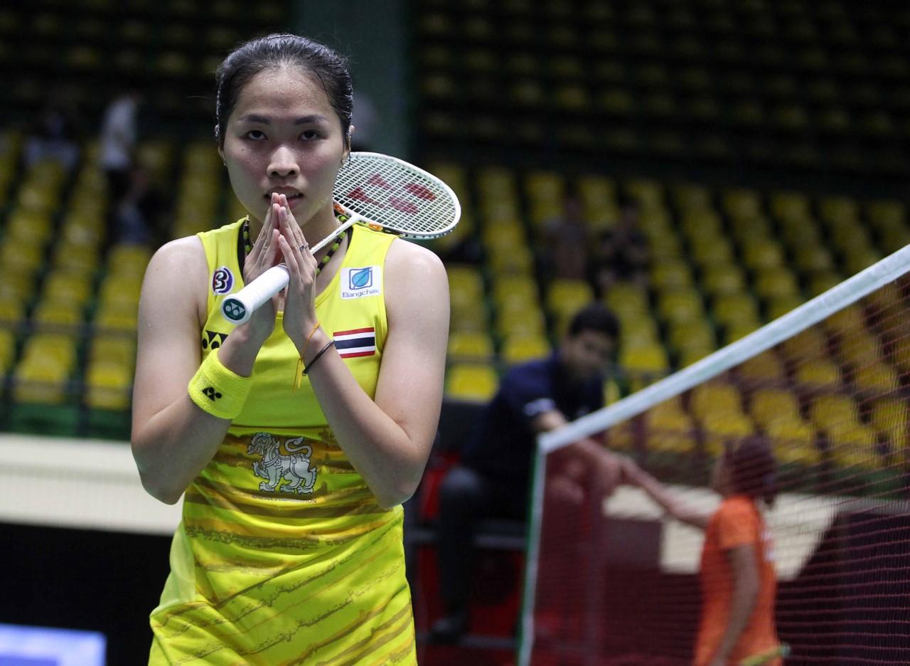"""เมย์"""" รัชนก อินทนนท์ พ่าย Akane Yamaguchi ในการแข่งขัน TAHOE China"""